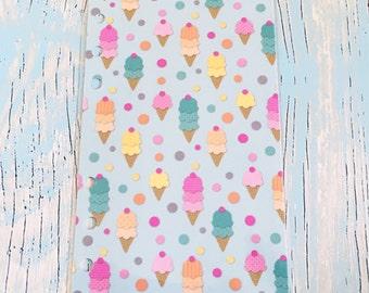 Planner Dashboard Summer Ice Cream Cone Print