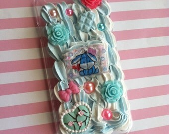 blue and white decoden iphone 6/6s case eeyore