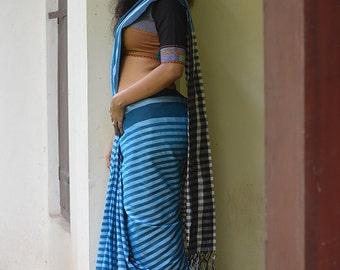 Neela Vara Kaithari Saree