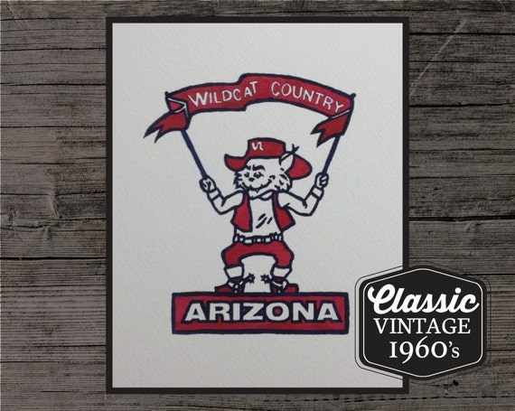 Arizona Wildcats Painting
