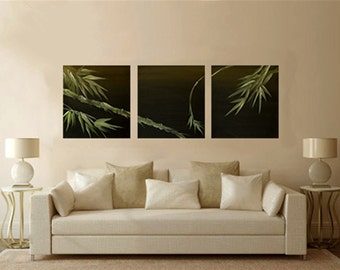 """Acrylic Painting on canvas - """"Three-in-one Décor"""" - Original art By Amit Yalin"""