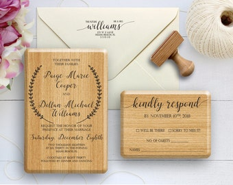 Wedding Stamp, Wedding Invitation Stamp, Wedding RSVP Stamp, Wedding Address Stamp, Wedding Suite Stamp Set