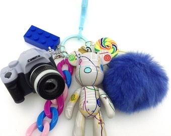 Amigurumi Koala Keychain : Items similar to Crochet Bear Bag Charm , Bear Amigurumi ...