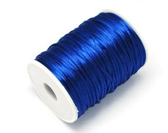 3m satin ribbon satin cord blue