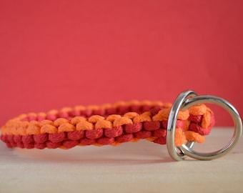 Red and Orange,Training Dog Collar