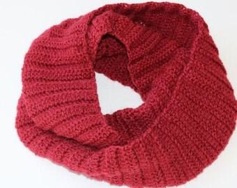 Flow Scarf: Australian wool and alpaca scarf, yoga scarf, infinity scarf