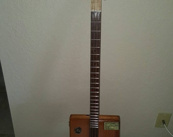 Cigar box guitar hand made