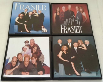 Frazier TV Show Ceramic Tile Drink Coasters
