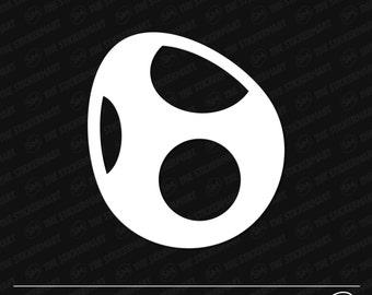 Yoshi Egg Vinyl Decal