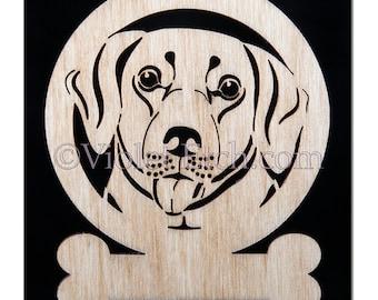 Labrador Ornament-Labrador Gift-Labrador Retriever-Free Personalization