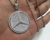 Popular Items For Mercedes Necklace On Etsy