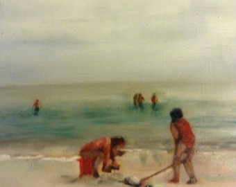 8x10 beach scene of the Florida Gulf coast