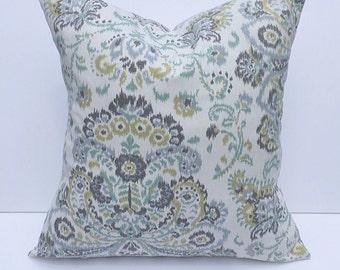Throw pillow, accent pillow, decorative throw pillow cover, couch pillow cover, accent pillow cover, floral pillow cover, home decor pillow