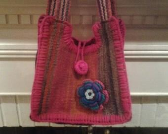 textil andean handbag