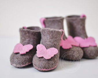 felted slippers - Eco-friendly - healthy & comfortable
