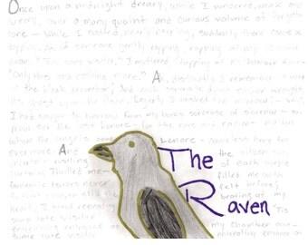 Raven Poetry Downloadable Print