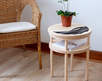 Zephyr Birch Plywood Side Table