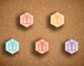 Birthday, Gift Hexagons for Inkwell Press Planner IWP-HMB1