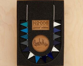Special Adition Acrylic Bunting Necklace