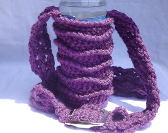 Patchwork Bottle Sling Pattern