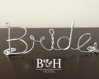 Wire Placecards Bride And Groom Place Cards Wedding PlaceCards Custom Placecards
