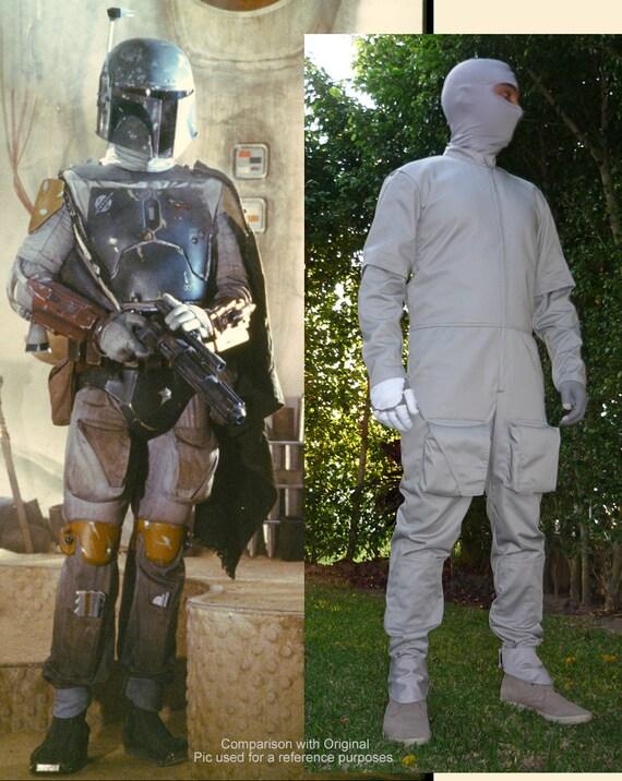 Star Wars Boba Fett Mandalorian Jump Flight Suit Replica