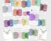 Catholic Valentines 4x6 Card Set {digital download}