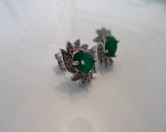 silver 925 Elegant Earring