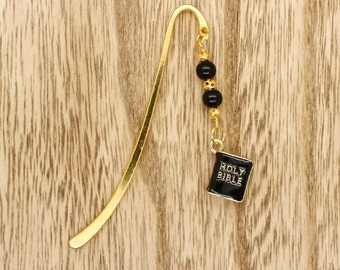 Holy Bible Bookmark Gold Plated Scriptures Christian Gift Idea