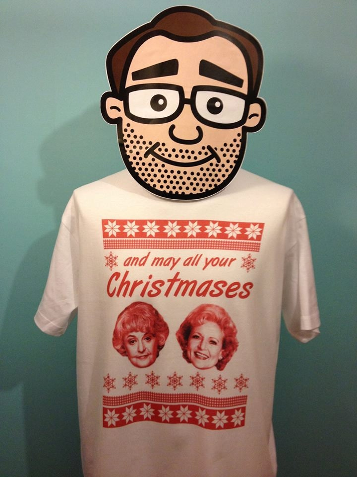 Golden Girls Christmas T-Shirt And may all your Christmases