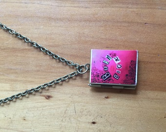 Mean Girls' Burn Book Locket
