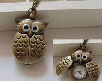 Vintage watch-OWL-Vintage clock
