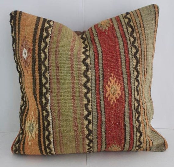 Colorful Rustic Throw Pillows : Floor Cushion Accent Pillow Rustic Pillows Throw Pillows Couch
