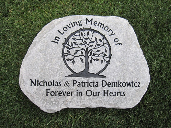 Custom Engraved Tumbled Stepping Stones By Earthengraving On Etsy