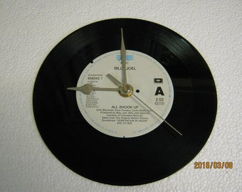 "Billy Joel - ""All Shook Up"" Vinyl Record Wall Clock"