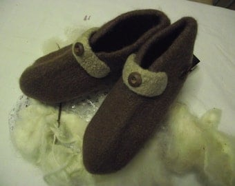 Felt slippers, size 44/45, Art.Nr. SU-155