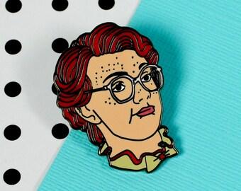Barb Enamel Pin // stranger things, netflix // EP154