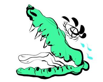 Crocodile Tears [Art Print]