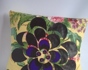 Flower Cushion Cover