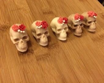 3D Chocolate Candy Skulls
