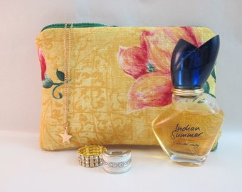 Makeup Bag cosmetic bag jewelry pouch