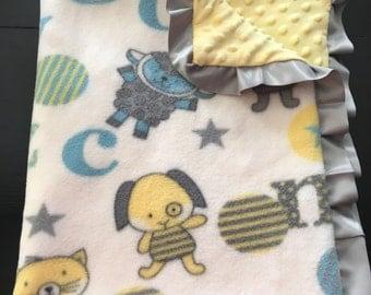 Baby Letters Blanket