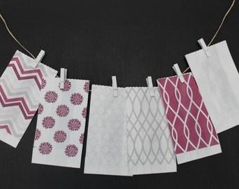 "60 Kraft paper gift bags/paper bags decorated decoratisacchetti ""confettata"" jordan package"