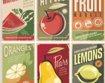 Fruit Vintage Poster