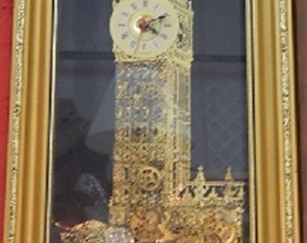 Big Ben Clock From England- with all working part visible