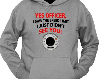Yes, I Seen The Speed Limit Officer Hoodie