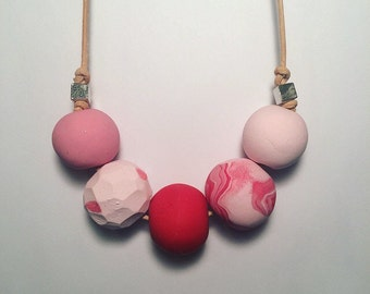 Strawberry Sundae Necklace