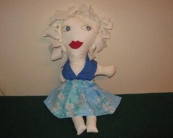 "Vintage style ""Rag Doll"""
