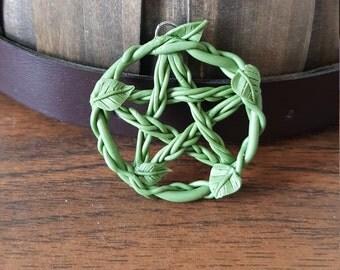 Vine Pentagram Pendant