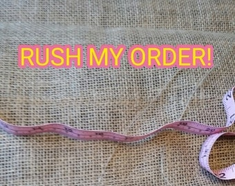 Rush my order and have it mailed the next day!